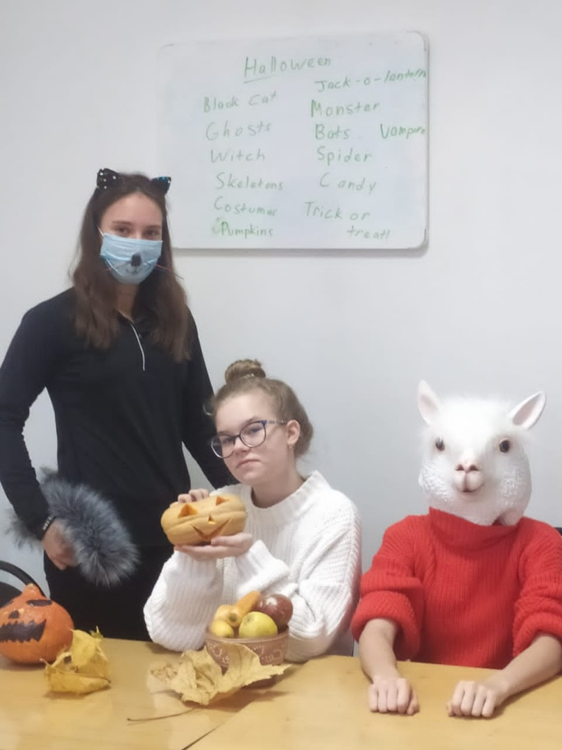 Занятие с носителем языка Halloween